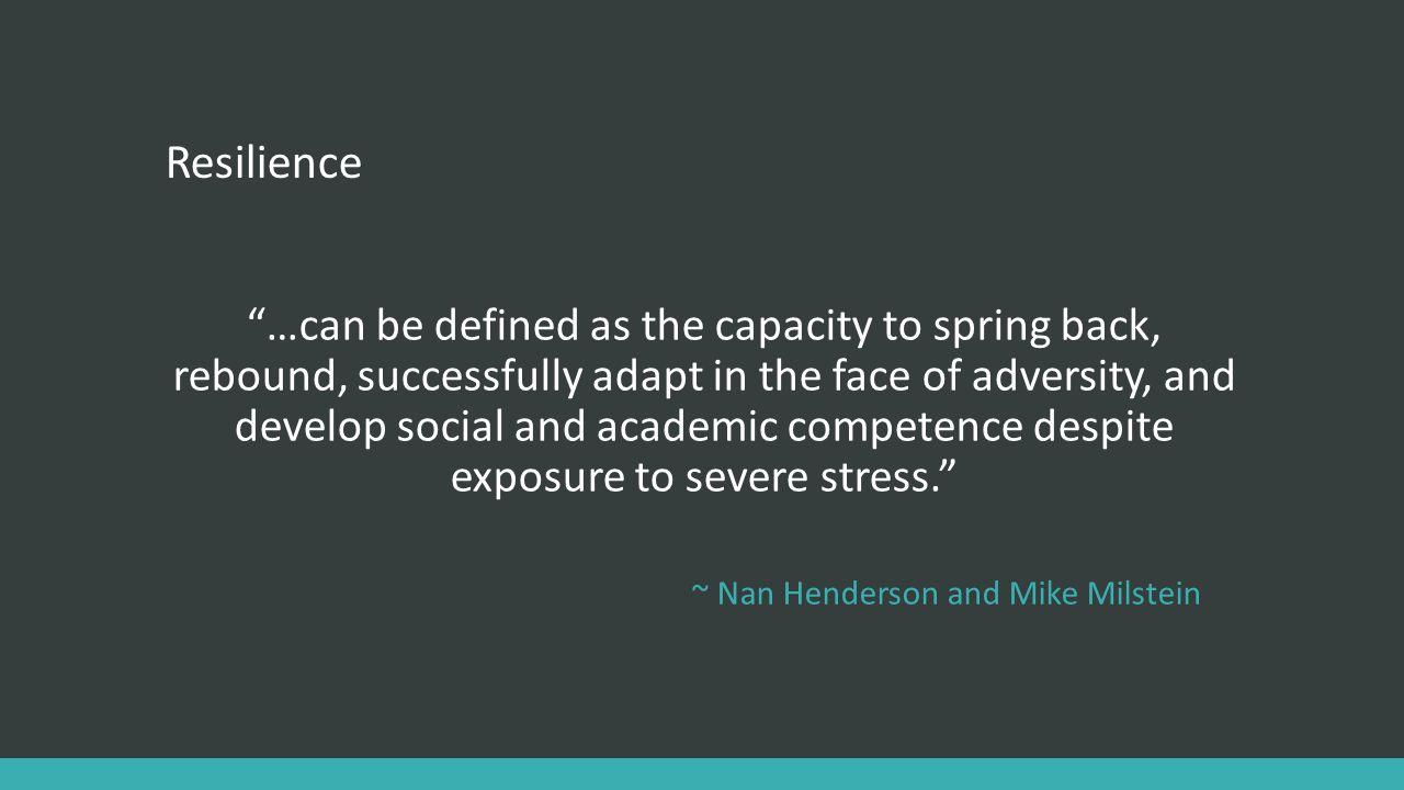 Experiential Activities TEAR MODEL