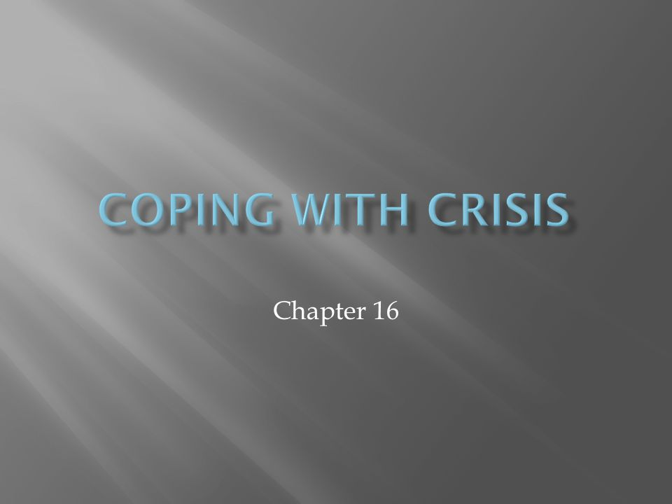 Chapter 16.1