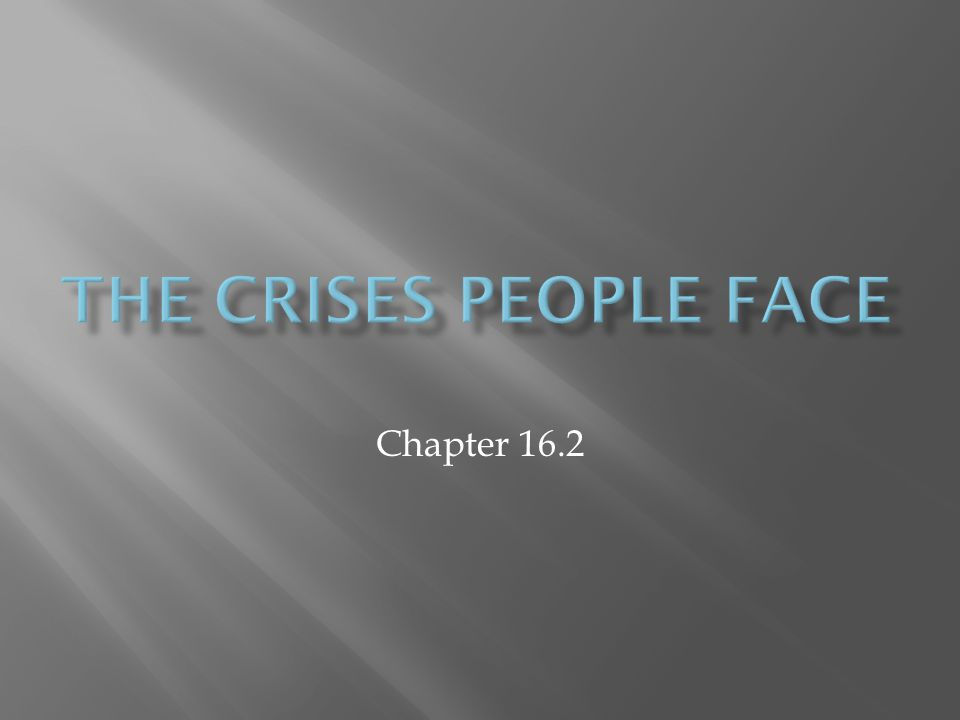 Chapter 16.2