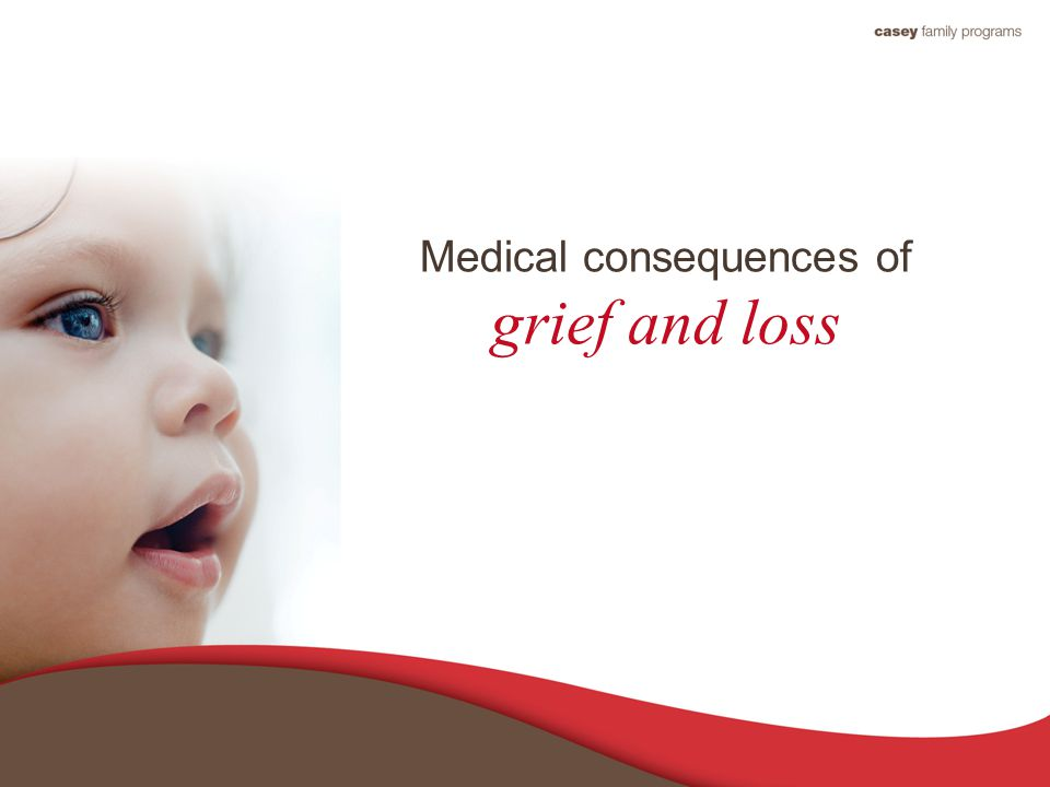 Medical consequences of grief and loss