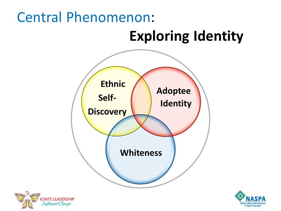 Central Phenomenon: Exploring Identity