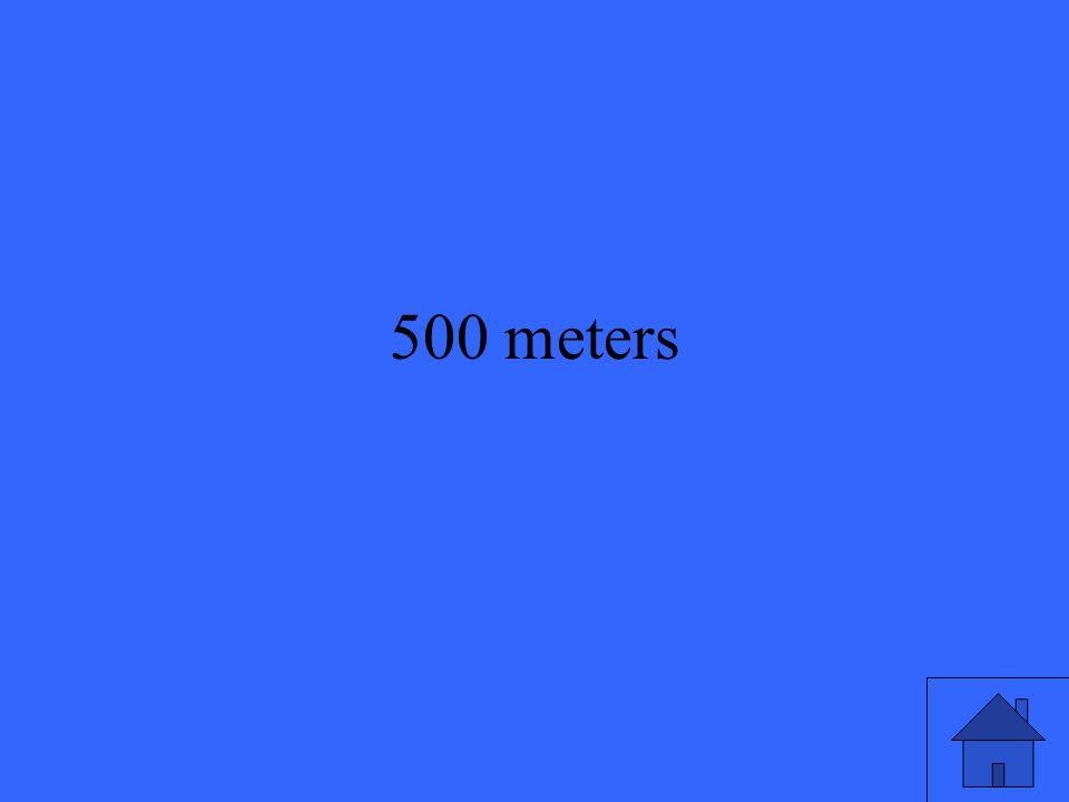500 meters