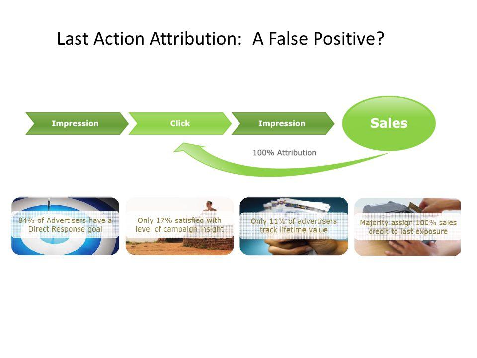 Last Action Attribution: A False Positive