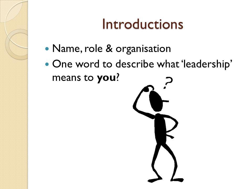 Styles of Leadership in HE/FE?