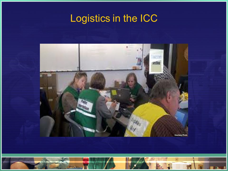 Logistics in the ICC