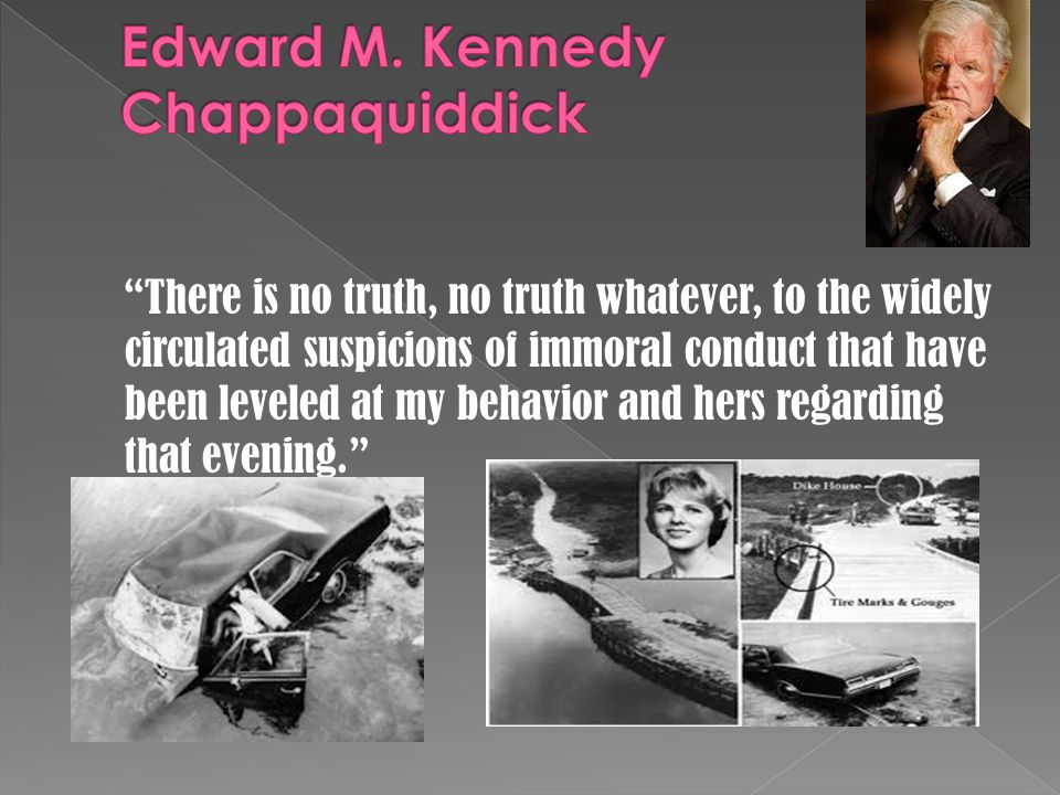 """There is no truth, no truth whatever, to the widely circulated suspicions of immoral conduct that have been leveled at my behavior and hers regarding"