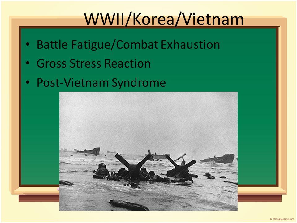 WWI – Shell Shock