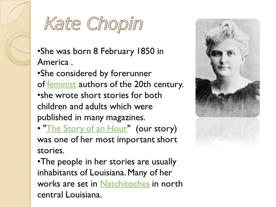 kate chopin essay questions Free essays from bartleby | abandoned by friends due to her supposed 'immoral' works, kate chopin was a mind ahead of her time stuck in the strict 1800s.