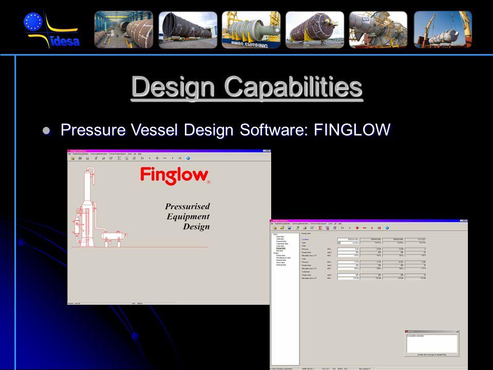 Design Capabilities CAD System: AutoCAD CAD System: AutoCAD