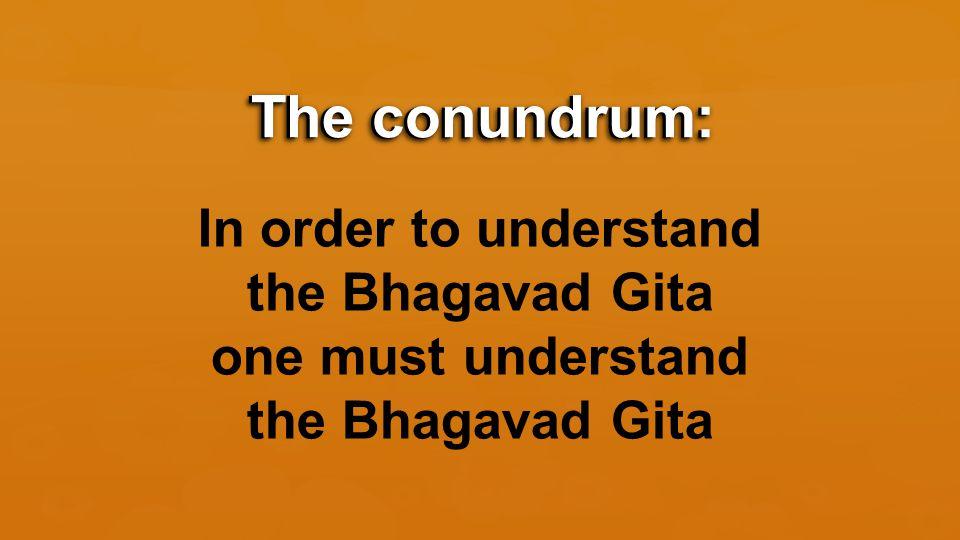Key #8: What am I supposed to do? Living the Teachings of the Bhagavad Gita 8 Keys to Understanding the Bhagavad Gita