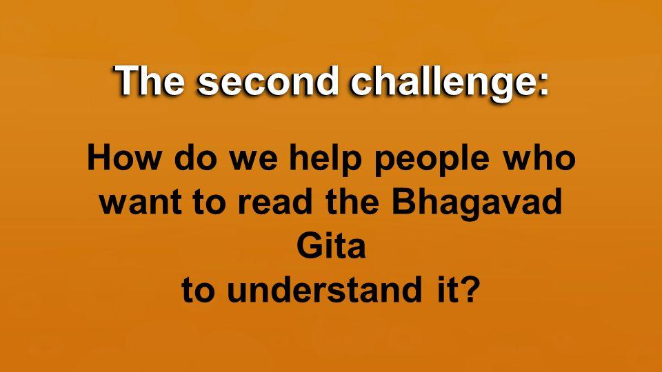 Key #1: The Subject Matter of the Bhagavad Gita