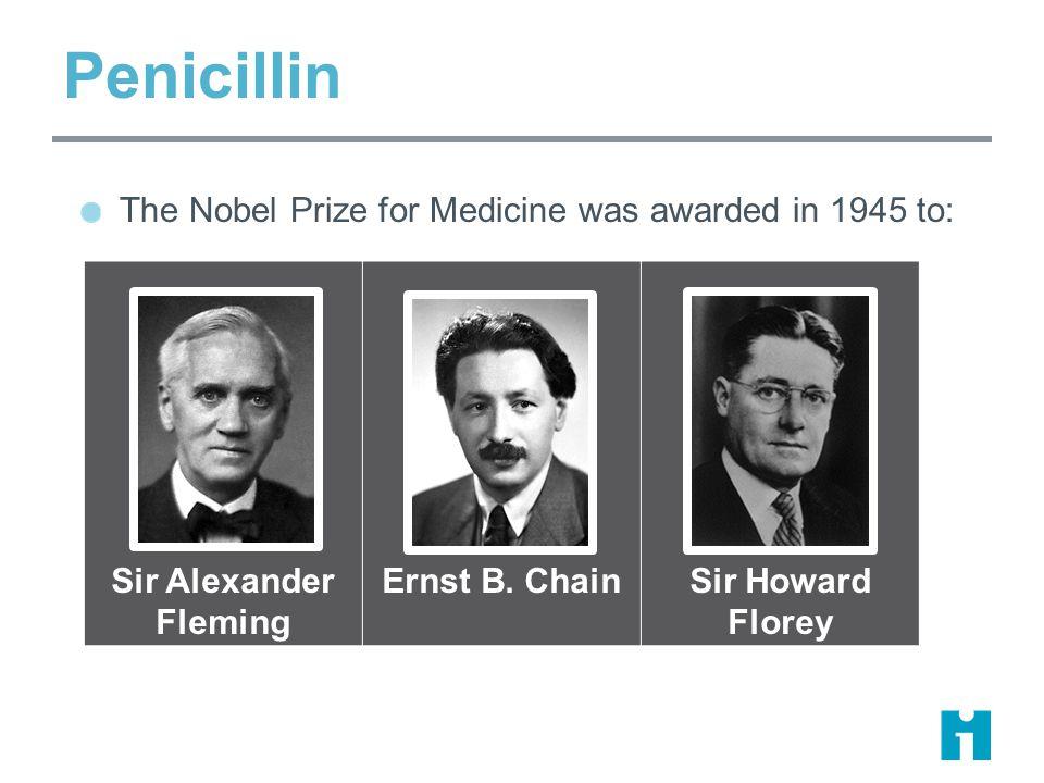 Sir Alexander Fleming Ernst B.