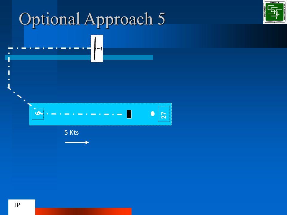 9 Optional Approach 5 5 Kts IP