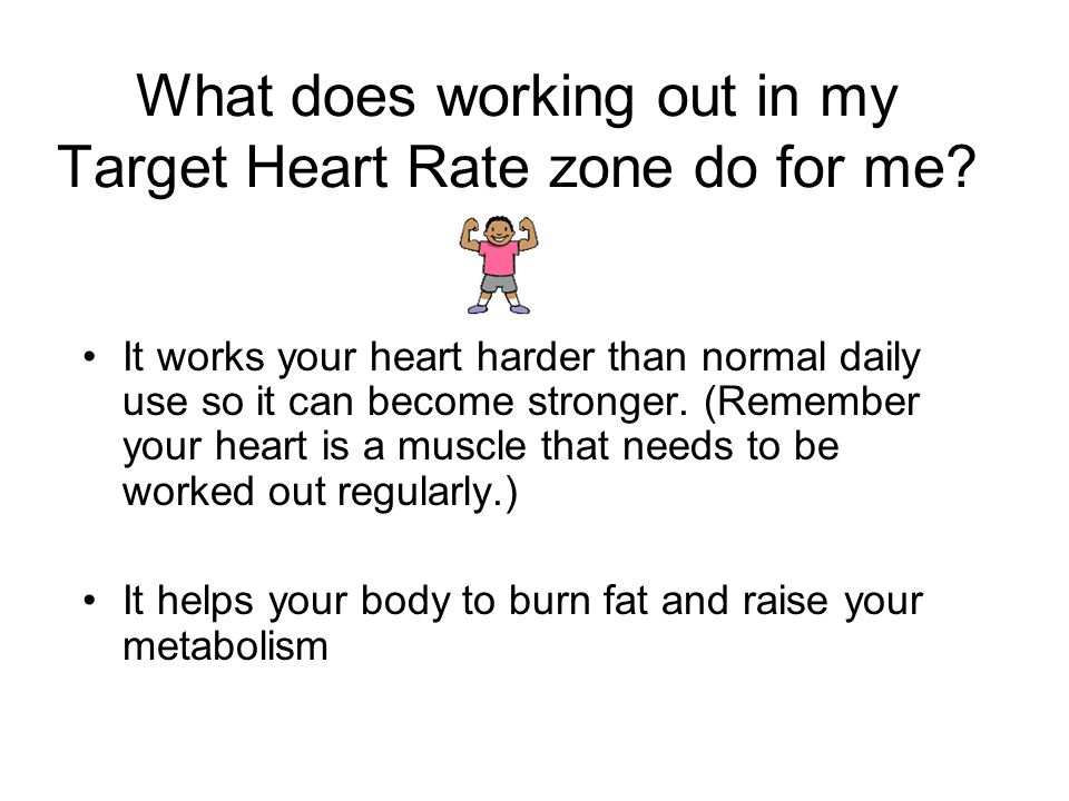 What is my Target heart Rate.