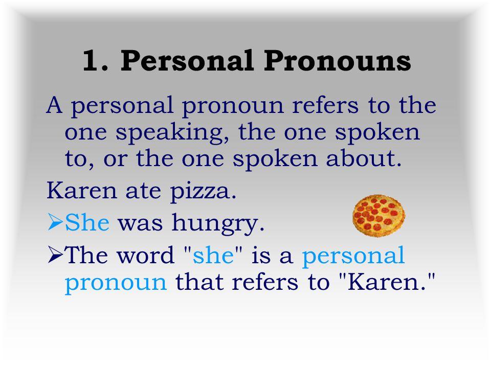 6 Types of Pronouns