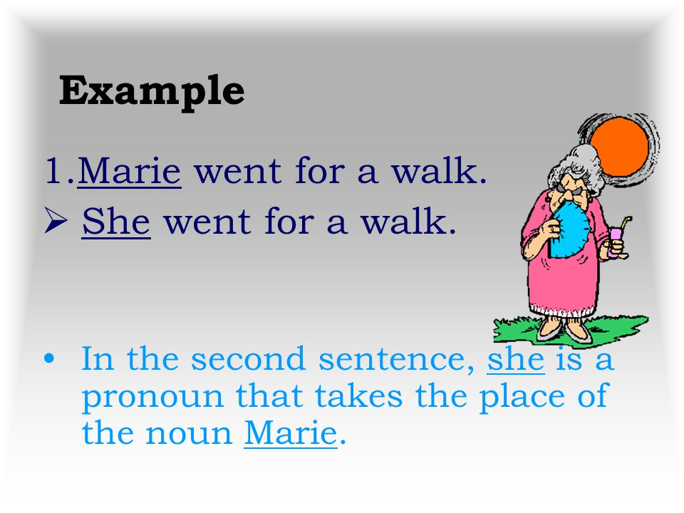 Pronouns A pronoun is a word used instead of a noun or another pronoun. Please, follow along in your maroon English 8 Grammar Books starting on page 3