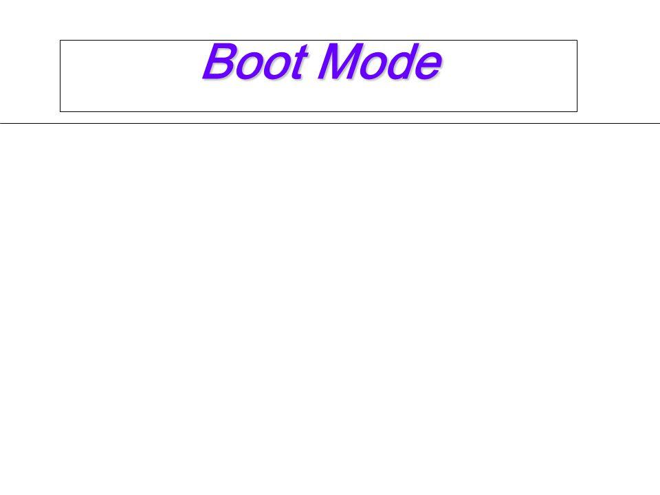 Boot Mode