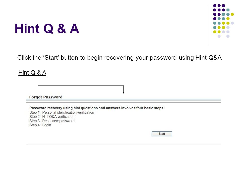 Hint Q & A – ID Verification Your full SSN and either User Name or Date of Birth are required and must match the information already on file at the EPSB The picture code is additional online security and must be typed exactly as shown Click the 'Continue' button to proceed
