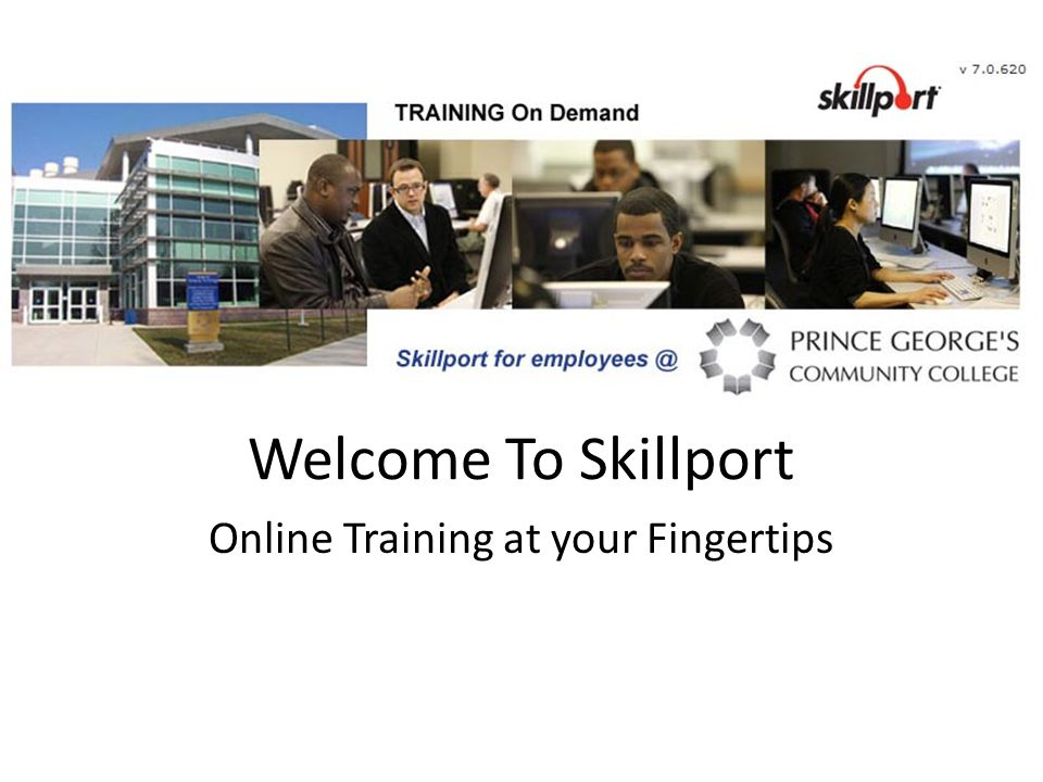 Welcome To Skillport Online Training at your Fingertips