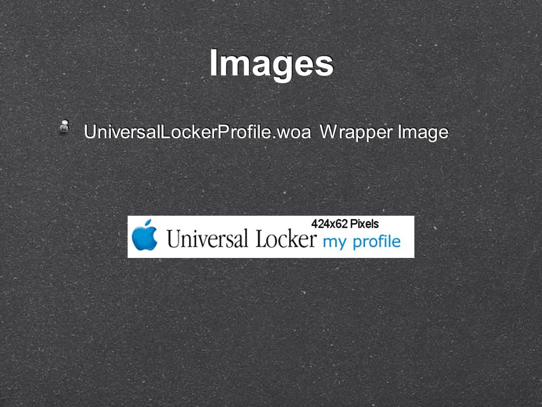 UniversalLockerProfile.woa Wrapper Image Images