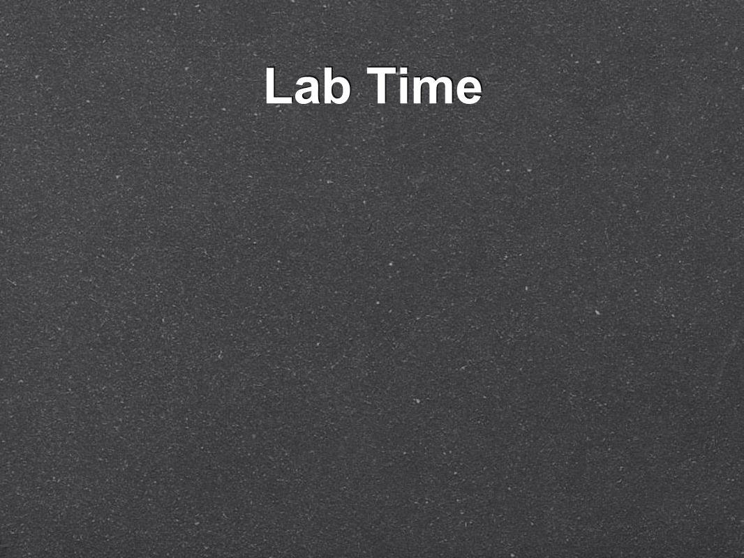Lab Time