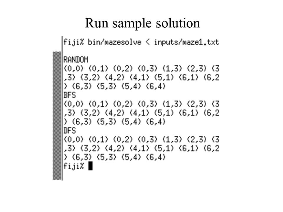 Run sample solution