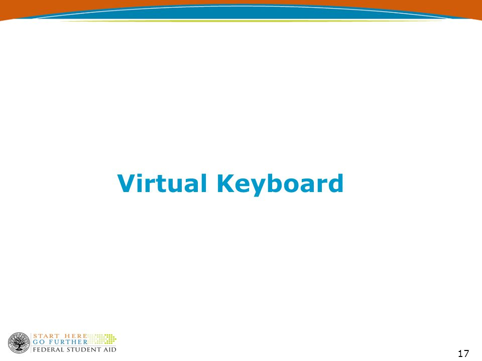 17 Virtual Keyboard