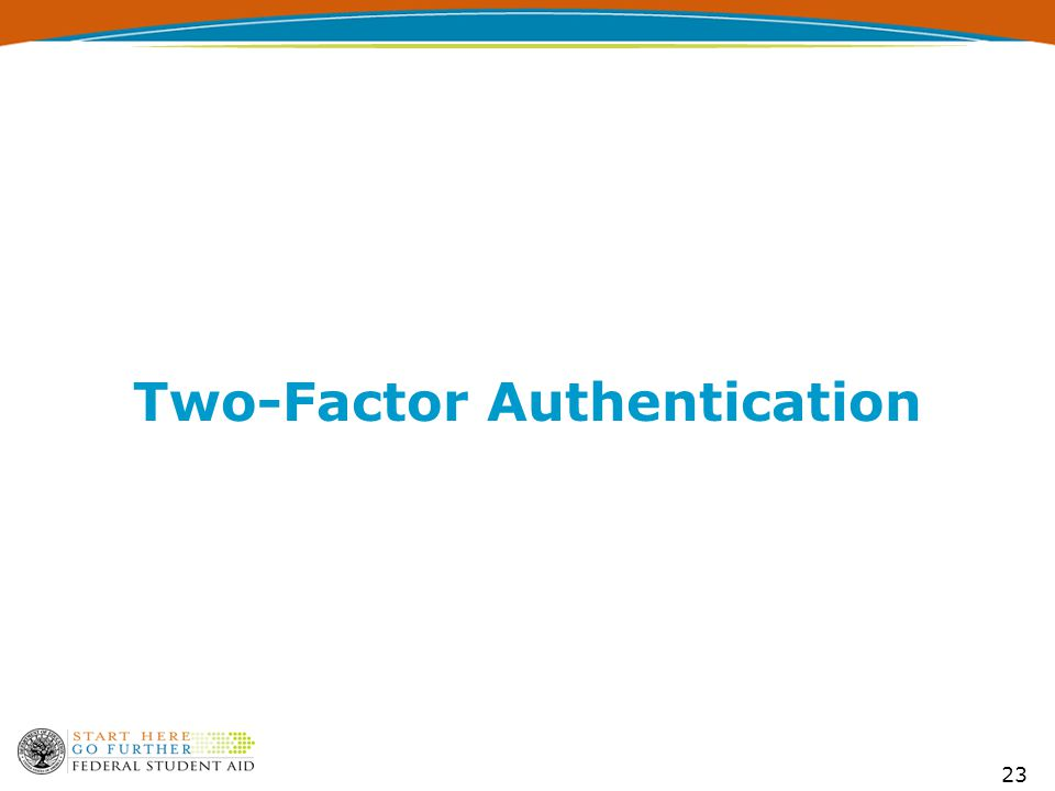 23 Two-Factor Authentication