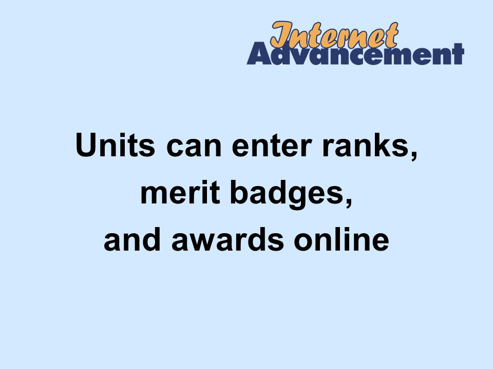 Record Youth Awards Nominated awards, such as meritorious action awards, cannot be entered.