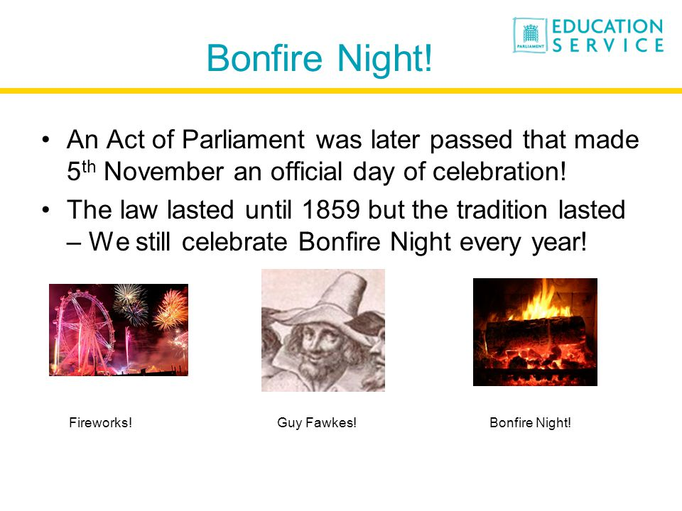 Bonfire Night.