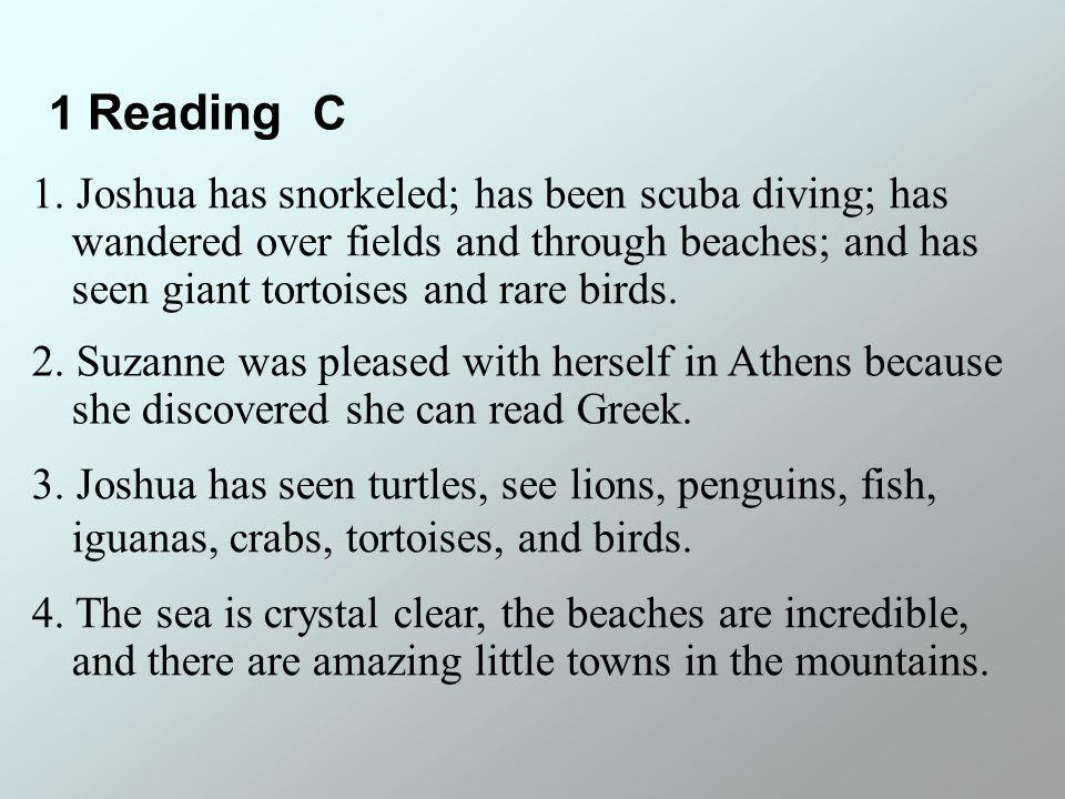 1 Reading C 4.