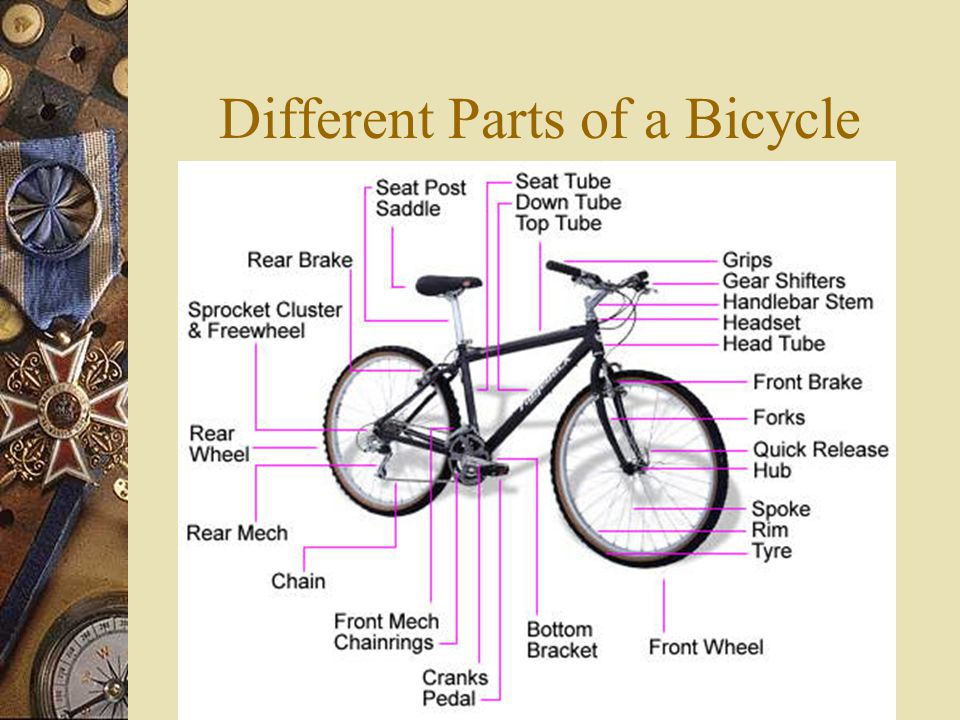 Different Parts of a Bicycle