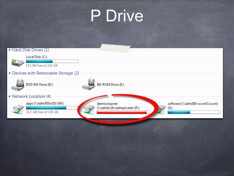 P Drive