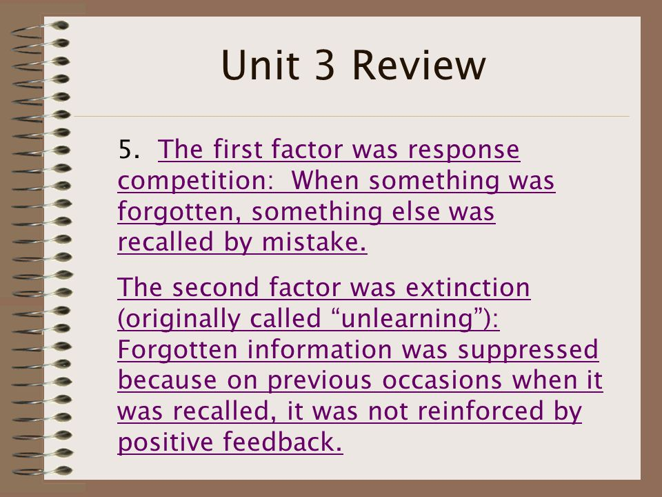 Unit 3 Review 5.