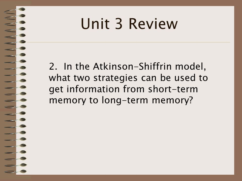Unit 3 Review 2.