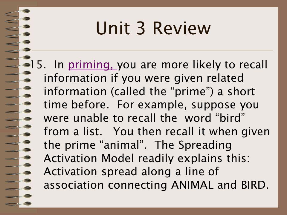 Unit 3 Review 15.