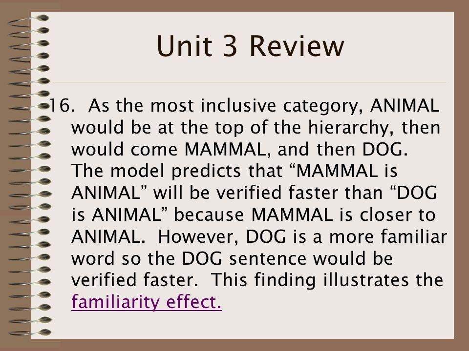 Unit 3 Review 16.