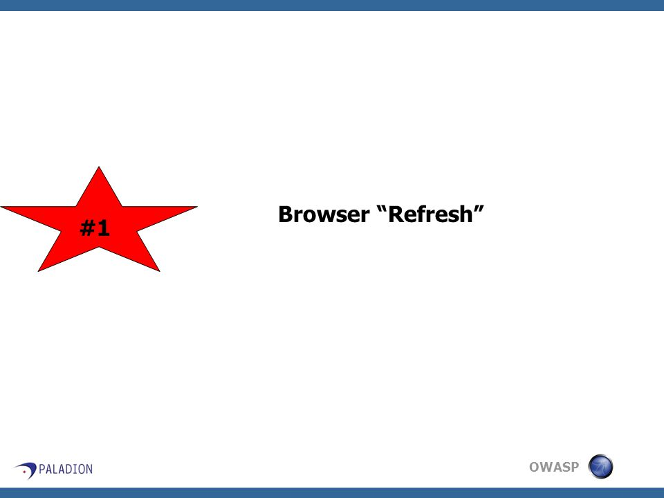 OWASP Browser Refresh #1