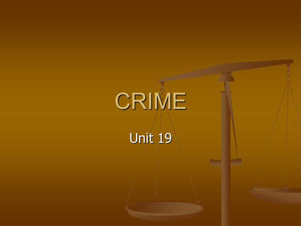 CRIME Unit 19