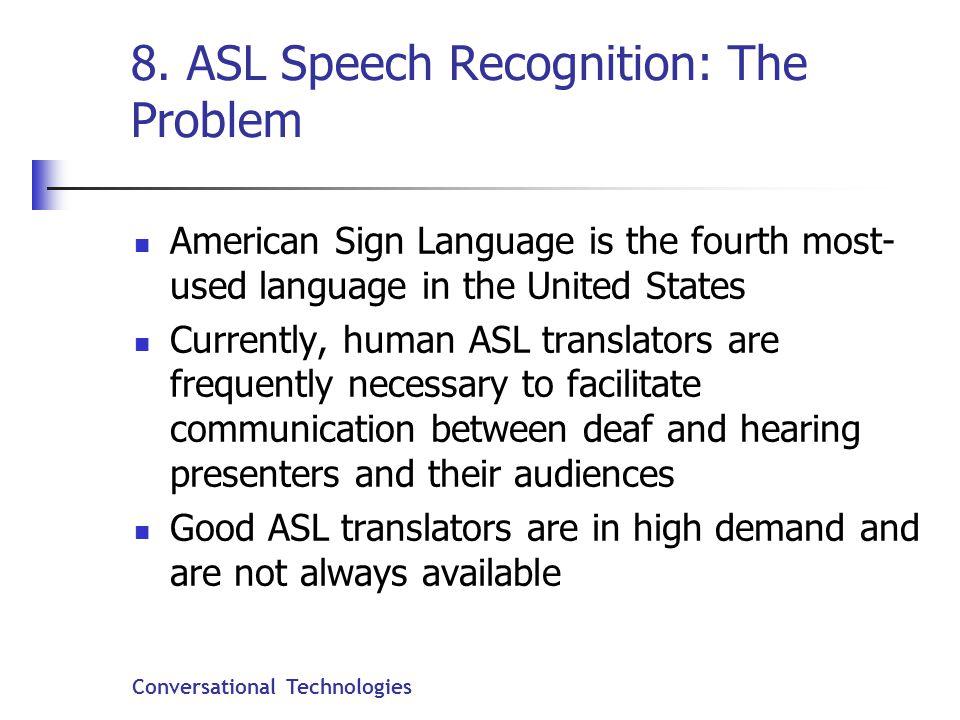 Conversational Technologies 8.