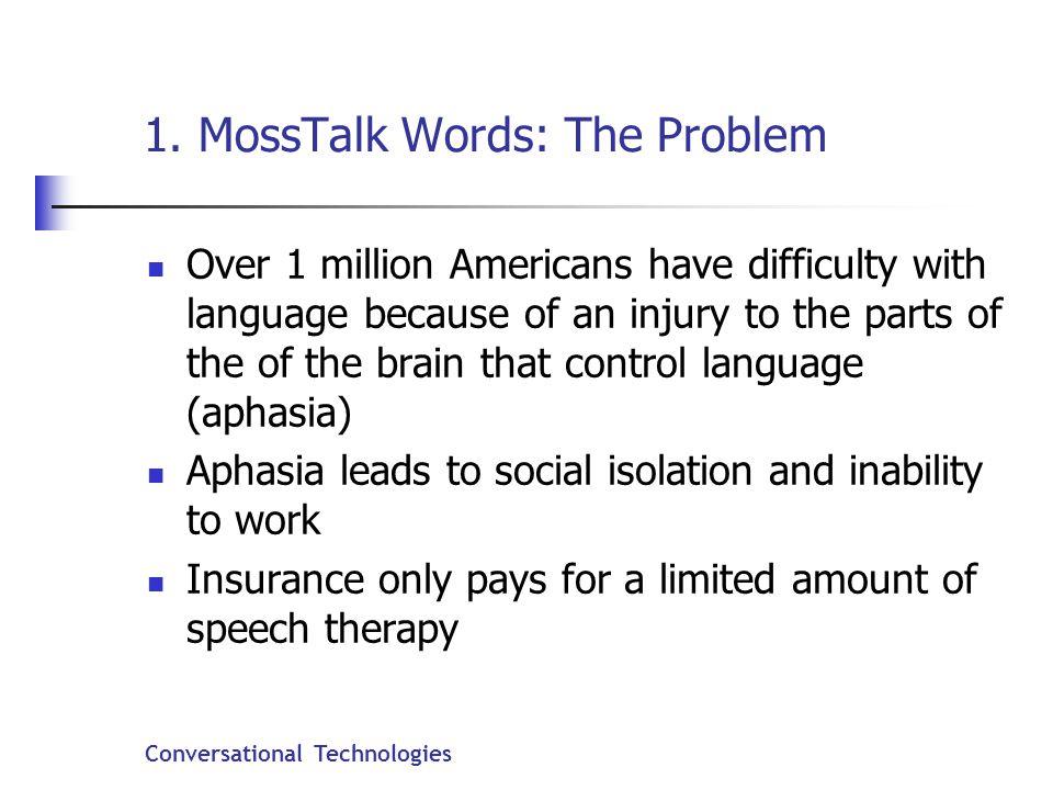 Conversational Technologies 1.