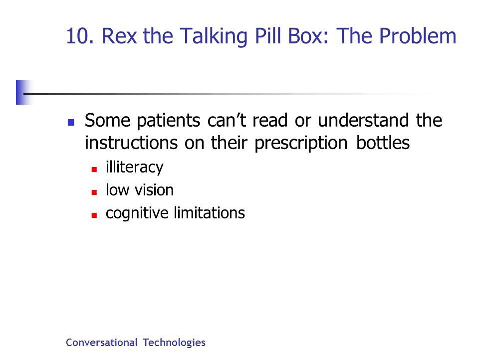 Conversational Technologies 10.