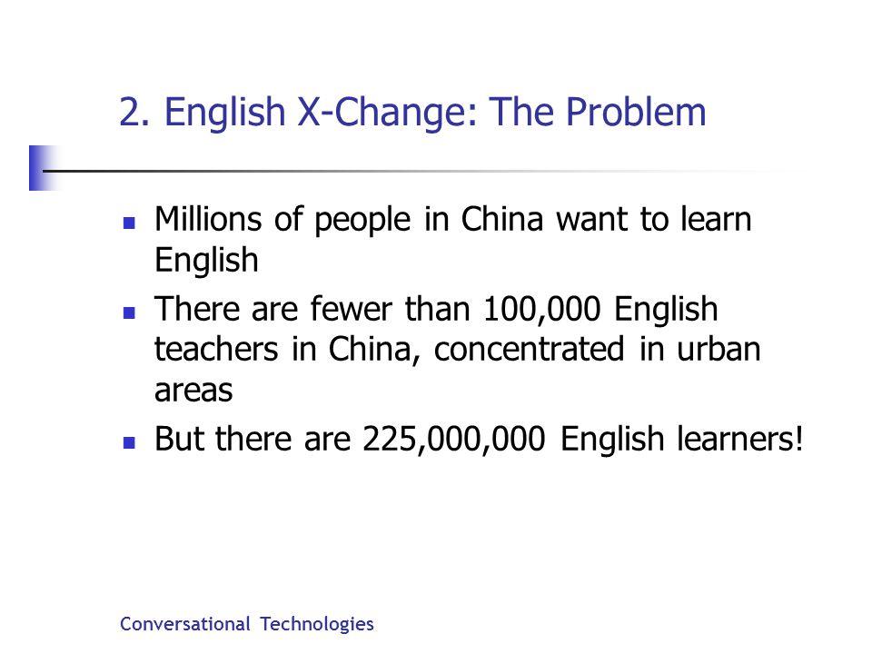 Conversational Technologies 2.