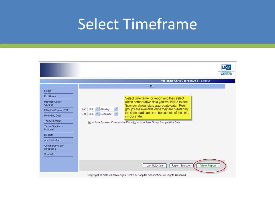 Select Timeframe