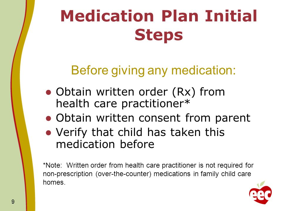 10 New Training Regulations Every person who administers medication must be trained, and must demonstrate competence.