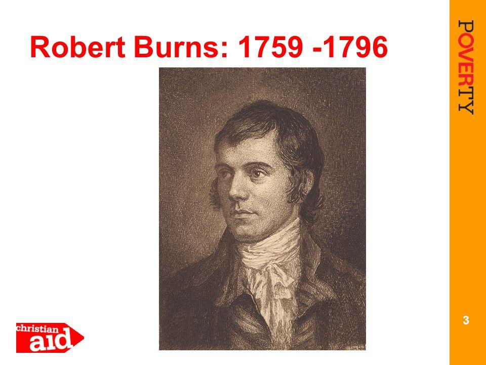3 Robert Burns: 1759 -1796