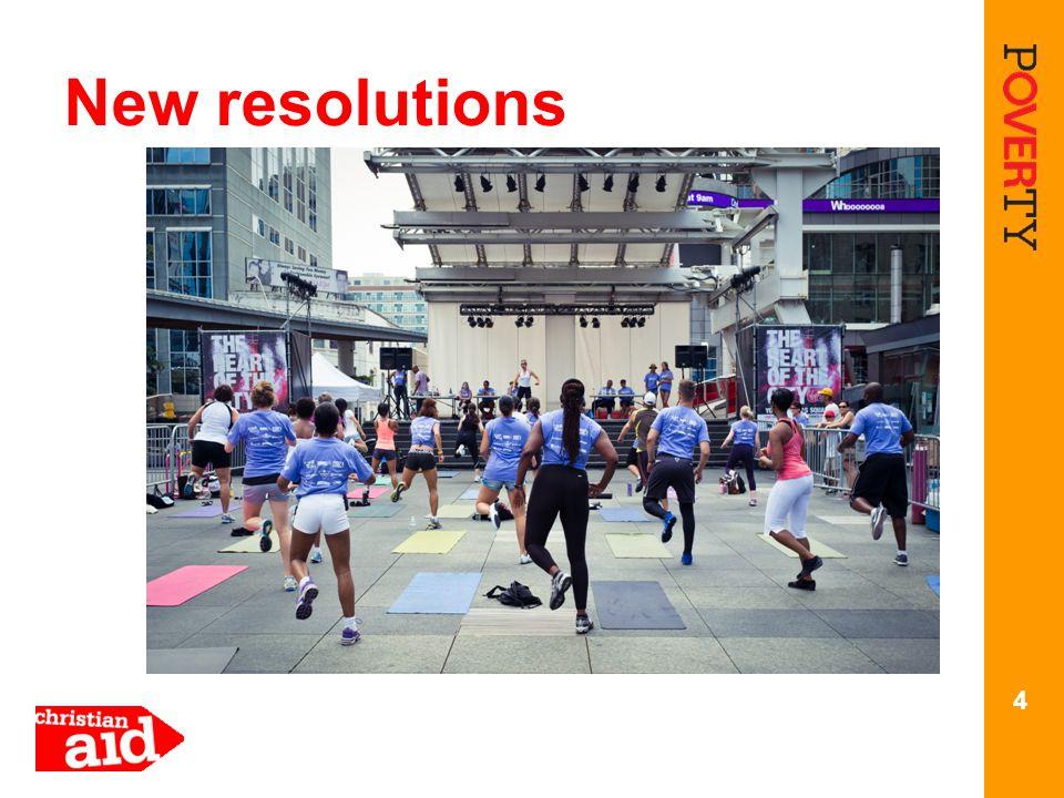 4 New resolutions