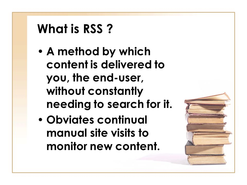 What is RSS .