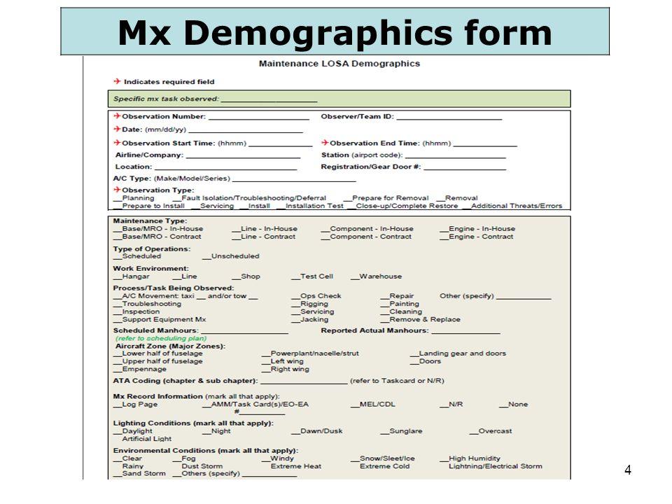 4 Mx Demographics form