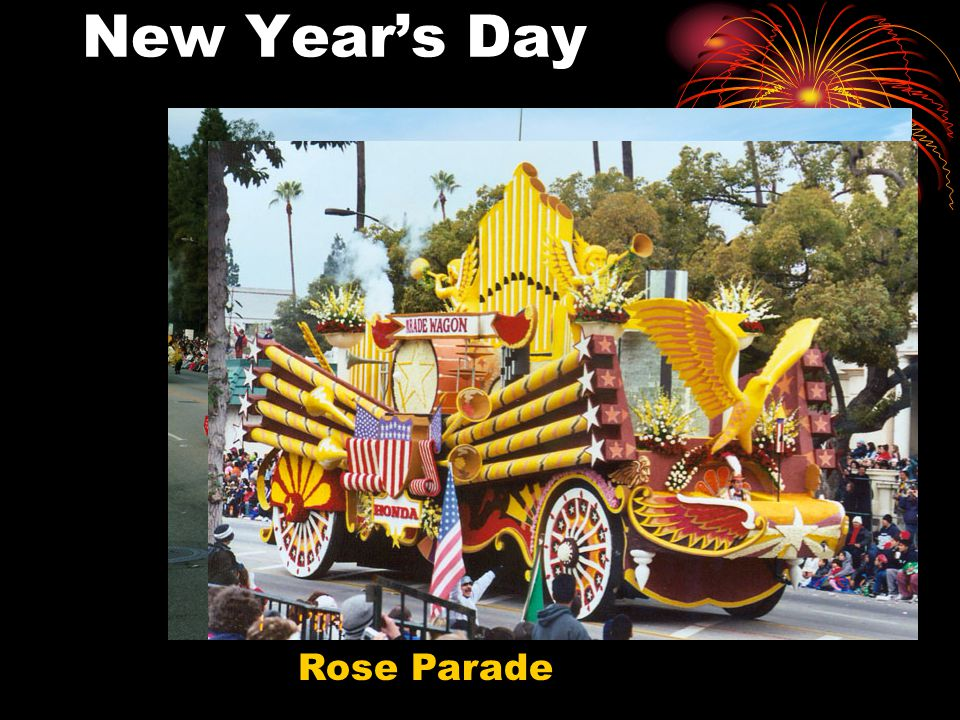 New Year's Day Rose Parade